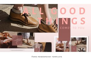 Fame Powerpoint Template