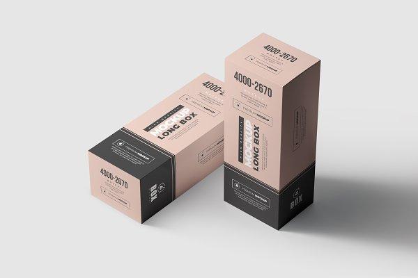 Long Box Mock Up 2 Psd Mockup Download Free Premium Mockups