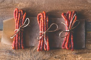 Kabanosy sausages
