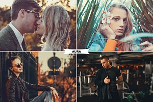 Aura Photoshop Actions