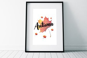 Autumn Typography Flyer Templates