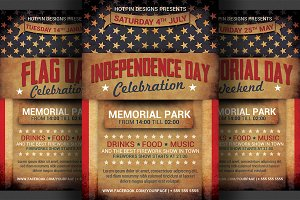 4th July/Independence Day Flyer