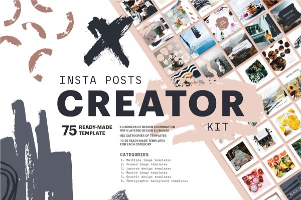 Social Media Templates - Insta Creator Kit