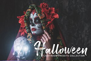 Halloween Lightroom Presets Pack