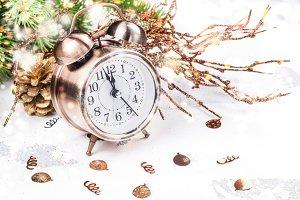 Vintage alarm o'clock