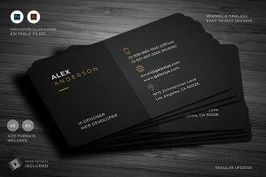 Minimal Individual Business Card