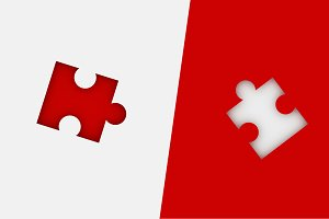 Missing jigsaw puzzle pieces in unfi