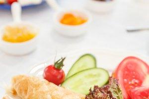 Turkish breakfast: pastry