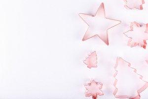 Snowflakes, star and Xmas tree