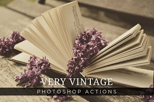 Very Vintage Photoshop Actions Vol 1