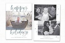 Christmas Card Template CC238
