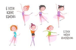 Cute Little Ballet Dancers