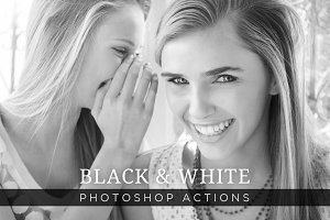 Black & White Photoshop Actions 1