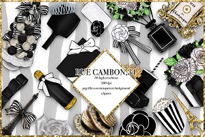 Rue Cambon - 38 Png cliparts files