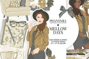 Fall Fashion Clipart