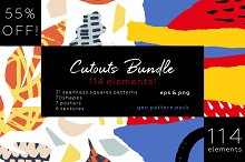 Cutouts big patterns bundle! by  in Patterns