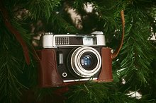 Vintage camera for christmas by  in Holidays