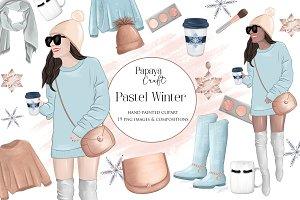 Winter Fashion Clipart