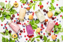 Healthy and useful colorful berry co by  in Food & Drink