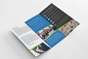 Tri-Fold Brochure-Colorful