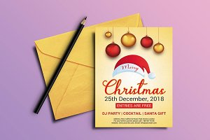 Christmas Invitation Flyer