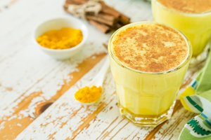 Turmeric drink - golden mild