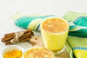 Turmeric drink - golden mild