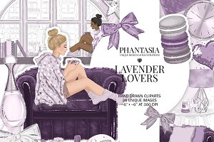 Lavender Fashion Clipart
