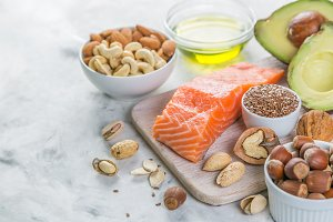 Selection of good fat sources -