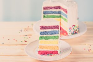 Birthday background - striped
