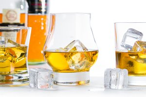 Strong alcohol drinks - whiskey