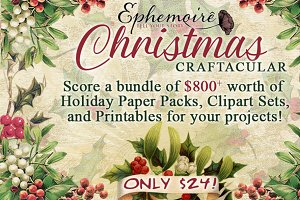 Holiday Crafting Bundle - 97% Off!
