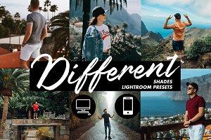 Lightroom Presets - Different Shades