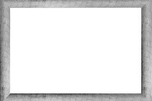 Blank Landscape Frame With Column Ed
