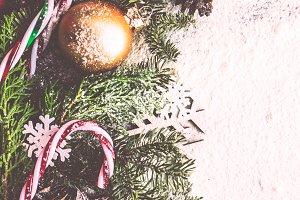 Christmas card concept