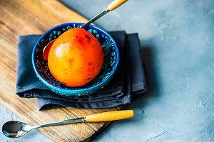 Organic fruit concept