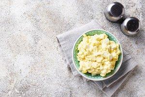 Egg salad, traditional American food
