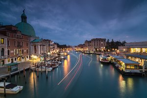Night view on Grand Canal