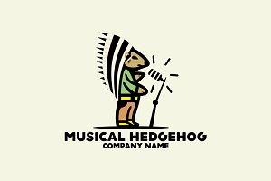 Musical Hedgehog Logo