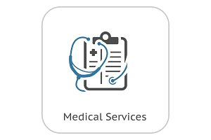 Medical Services Flat Icon