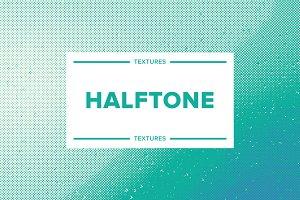 Halftone textures