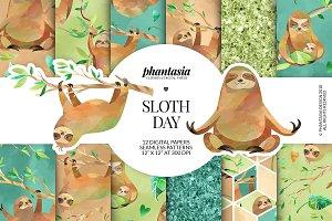 Sloths Digital Papers
