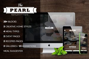 The Pearl - Restaurant HTML Template