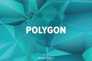 Polygon backgrounds V4