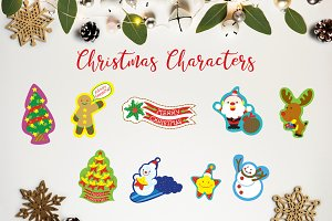 THE CHRISTMAS CHARACTERS