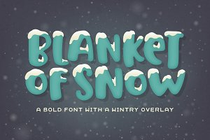 Blanket of Snow Font