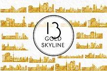 Gold Skyline