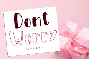 DontWorry - Mixed Style Font