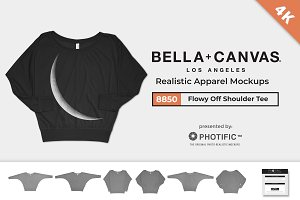 Bella Canvas 8850 Flowy Mockups