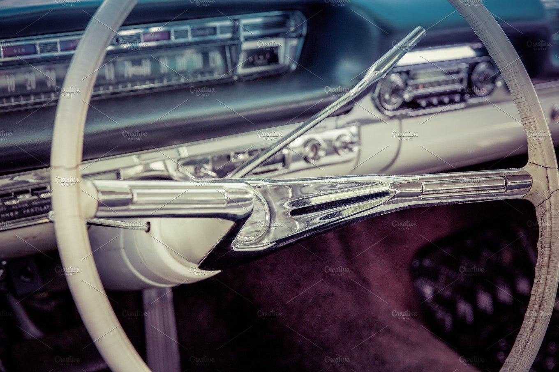 vintage us car oldtimer transportation photos creative market. Black Bedroom Furniture Sets. Home Design Ideas